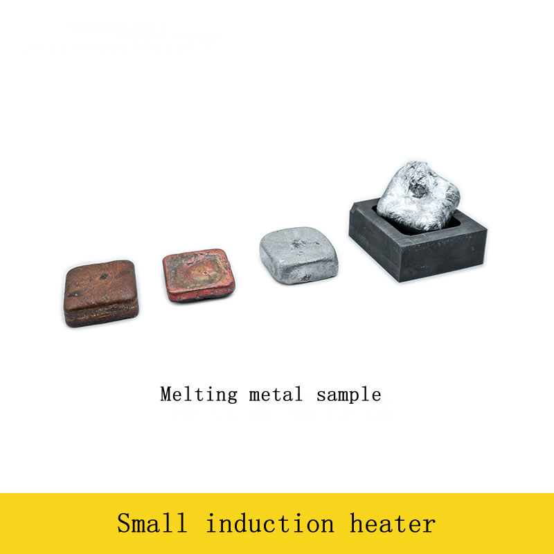 Image 3 - 2500W Medium and High Frequency Induction Heater Small Induction Heating Furnace for Gold and Silver Melting 1600C-in Integrated Circuits from Electronic Components & Supplies