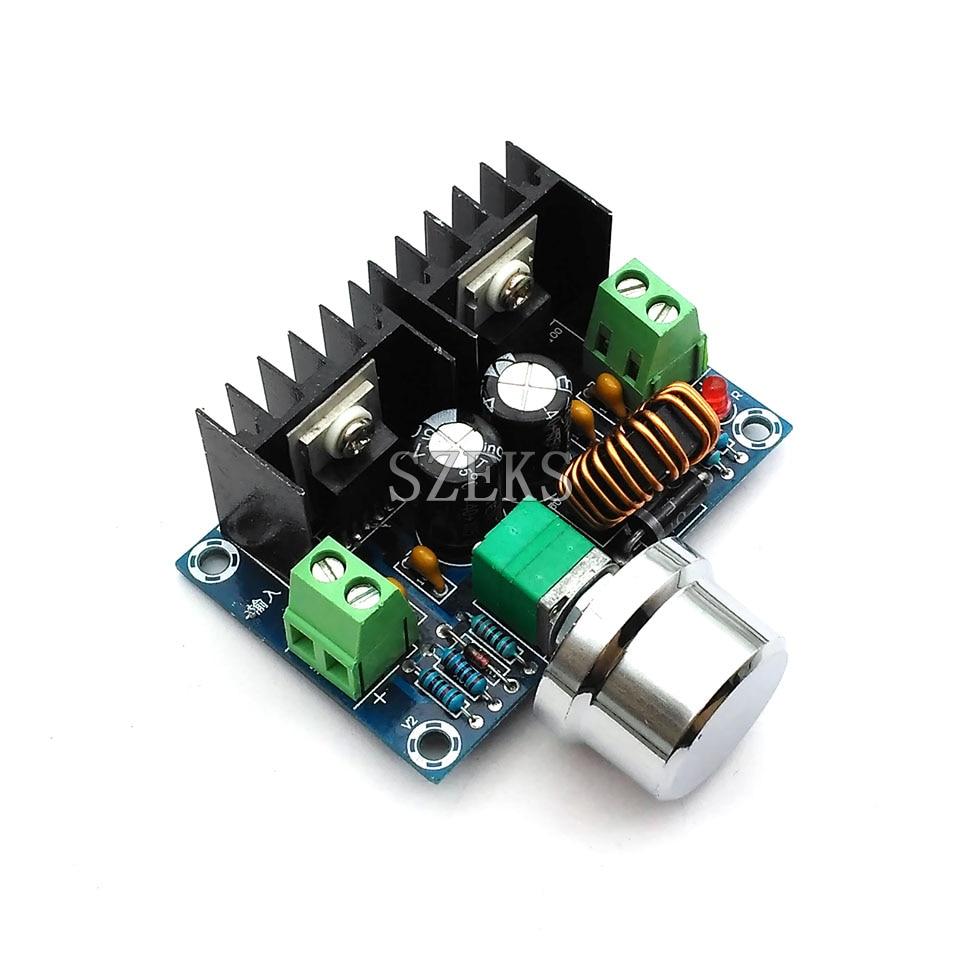 M401 DC-DC Buck Module XL4016E1 High Power DC Voltage Regulator 8A With Voltage Regulator