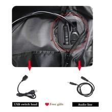 Dragon Ball Multi Function USB Charge Headphone Jack Backpack