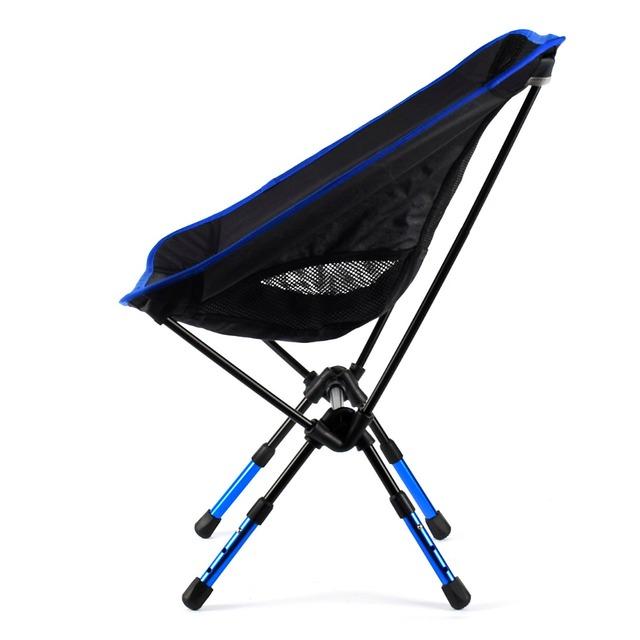 Newcomdigi Altura-ajustável Dobrável Cadeira de Acampamento Ao Ar Livre Cadeira de Praia Cadeira Cadeira De Pesca Portátil Da Liga de Alumínio