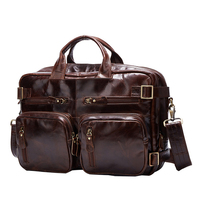 Genuine Leather Men S Bag Men S Oil Wax Leather Bag A4263