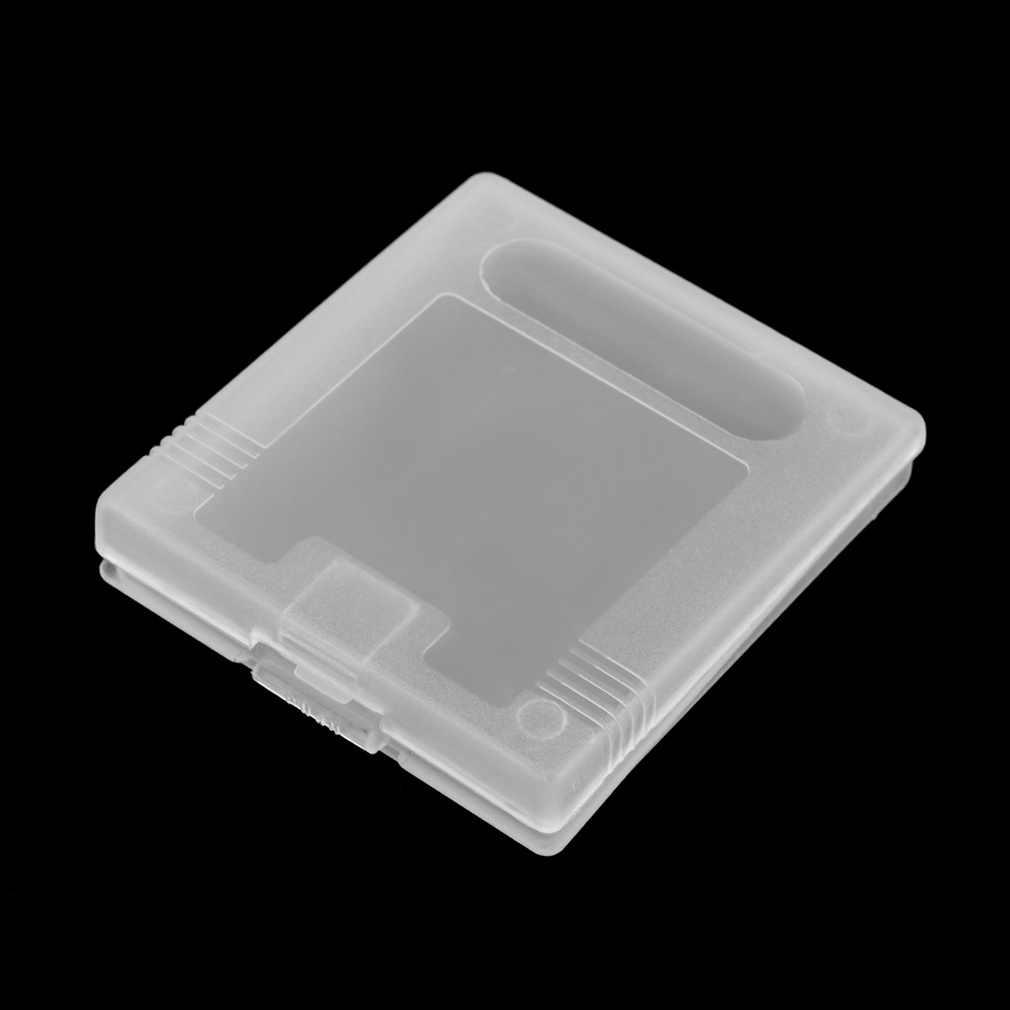 פלסטיק משחק מחסנית למקרי נינטנדו גיים בוי צבע כיס GB GBC GBP