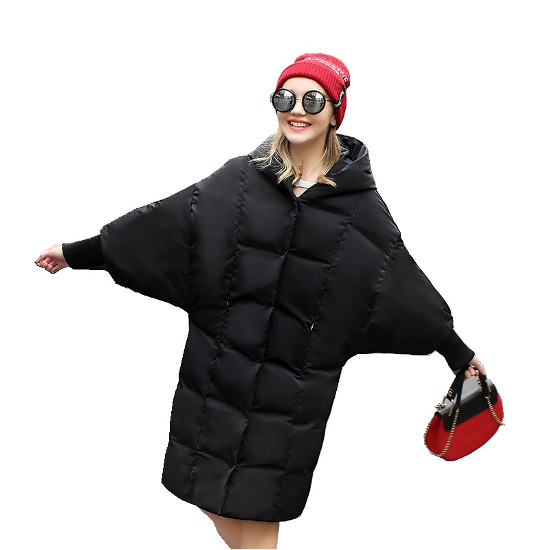 European Autumn Winter Women Parkas   Down     Coats   With Hoody 85% Duck   Down   Lady Outerwear Overcoat LF4237