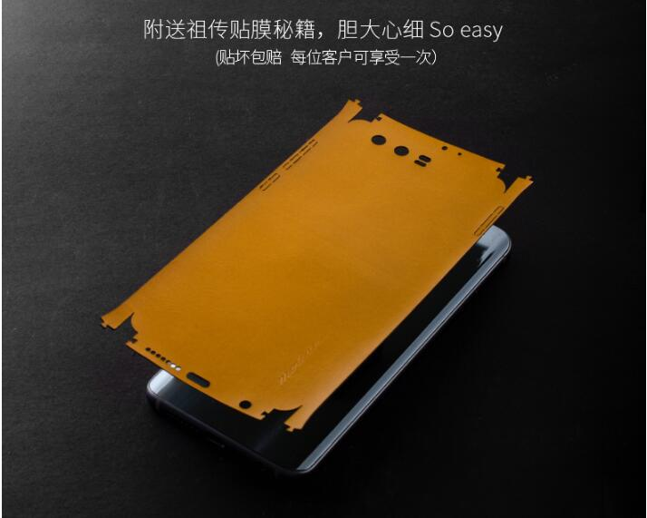 Huawei Honor 9 Case Genuine Leather Paste 360 Degree All Leather Leather Back Cover For Huawei
