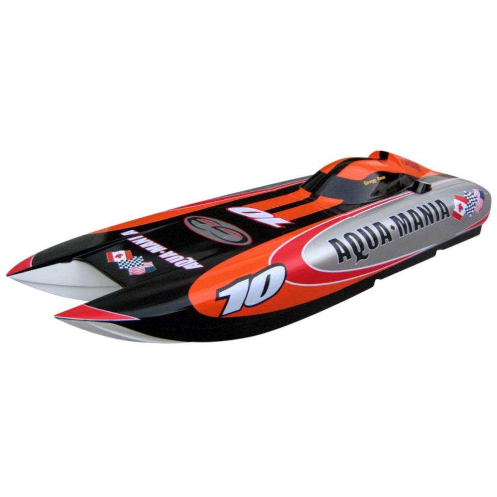 Rc Boat Aqua Mania 1300 Rc Gas Engine 26cc Powered Scale