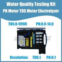 Free Shipping Water Quality Testing Kit PH Meter TDS Meter Electrolyzer Measure pH TDS