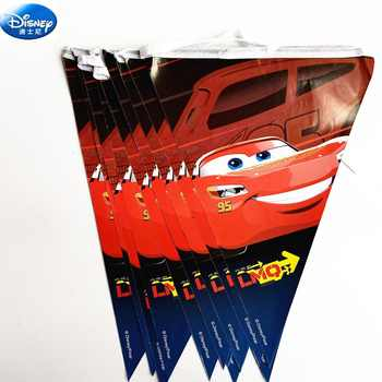 68pc Disney happy birthday kids Macqueen the cars baby boy shower party decoration set banner straws cup plates supplier