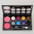 Set de maquillaje Paleta Neutral Nude paleta sombra de Ojos Sombra de ojos Desnuda Colorete Rubor En Polvo