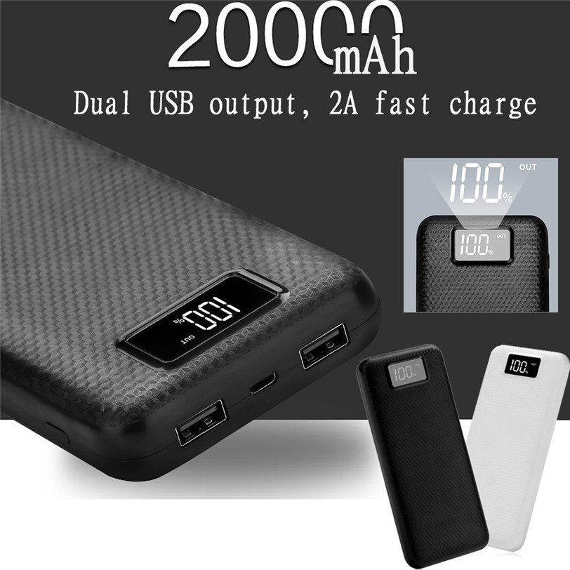 5V 2A Power Bank Case 8x18650 Battery Charger DIY Box Case Kit Dual USB 2 Ports for Phone New Professional Drop Shipping diy 5v 2a voltage regulator junction box solar panel charger special kit