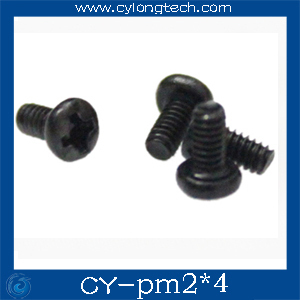Free Shipping M2 screw PM2*4 round head screw 4mm screw 300pcs/lot in stock deal in all screw Best price.CY-Pm2x4mm
