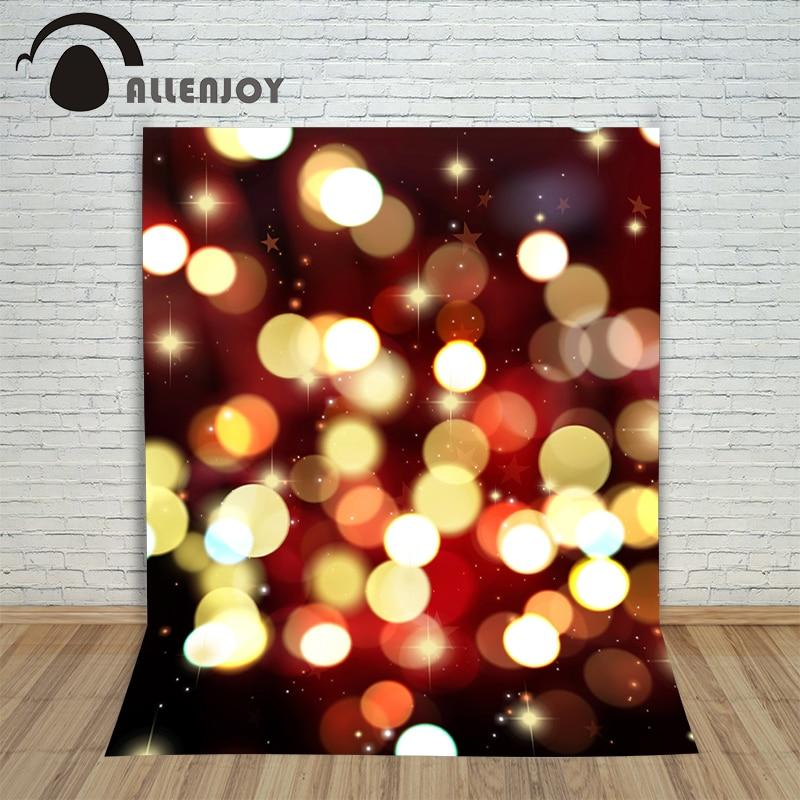 Christmas Newborn photography backdrops Light spot fond bokeh stars new year photo Background photographic cloth