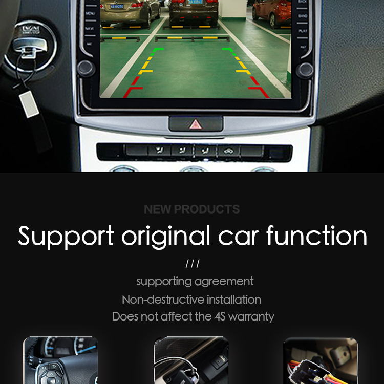 Best 9 inch Android 8.1 4G Car Multimedia Player GPS Navigation For Toyota REIZ 2010-2018 1