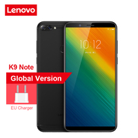 Lenovo K9 Note 6.0 inch Android 8.1 Snapdragon 450 Octa Core Phone 4GB RAM 64GB ROM 16.0MP + 2.0MP Rear Camera Face ID 3760mAh Lenovo Phones
