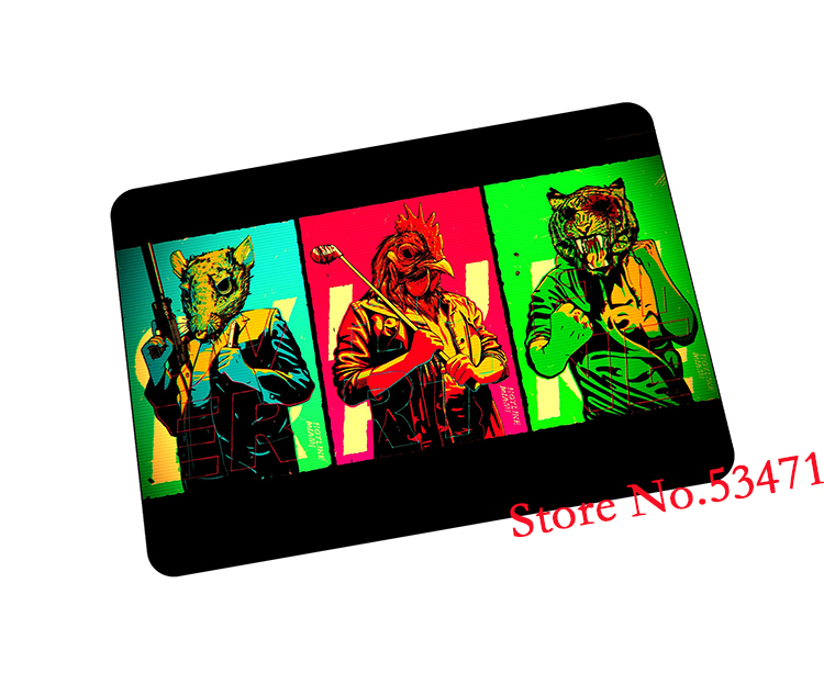 Hotline Miami mouse pad Mass pattern gaming mousepad cute gamer mouse mat pad game computer desk padmouse keyboard play mats