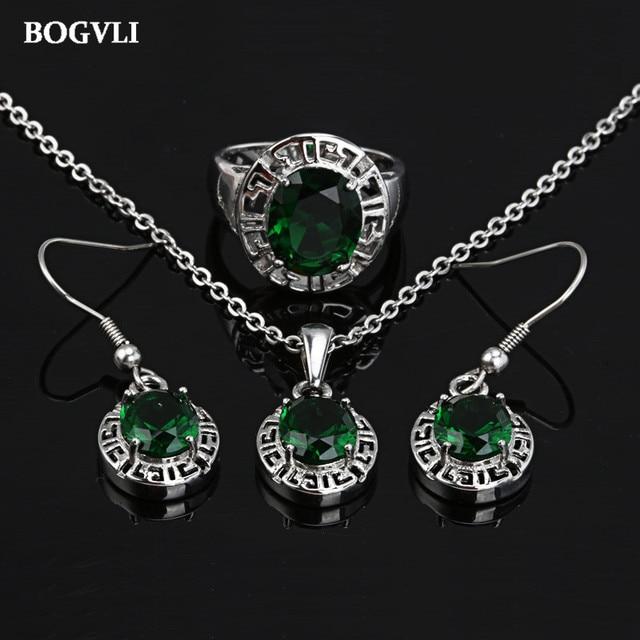 Нержавеющая сталь кристалл люкс ювелирные наборы женщины ожерелье и серьги набор