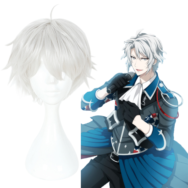 IDOLiSH7 Cosplay Wigs YAOTOME GAKU Game Cosplay Heat Resistant Synthetic Wigs Halloween Carnival Party Unisex Cosplay Wigs