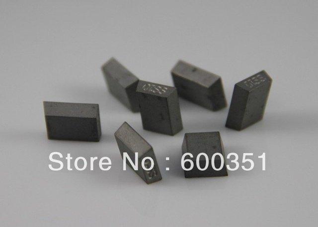 YG10B  SS10 trapezoid shape size 13.6x10x4mm about 144pcs /kg