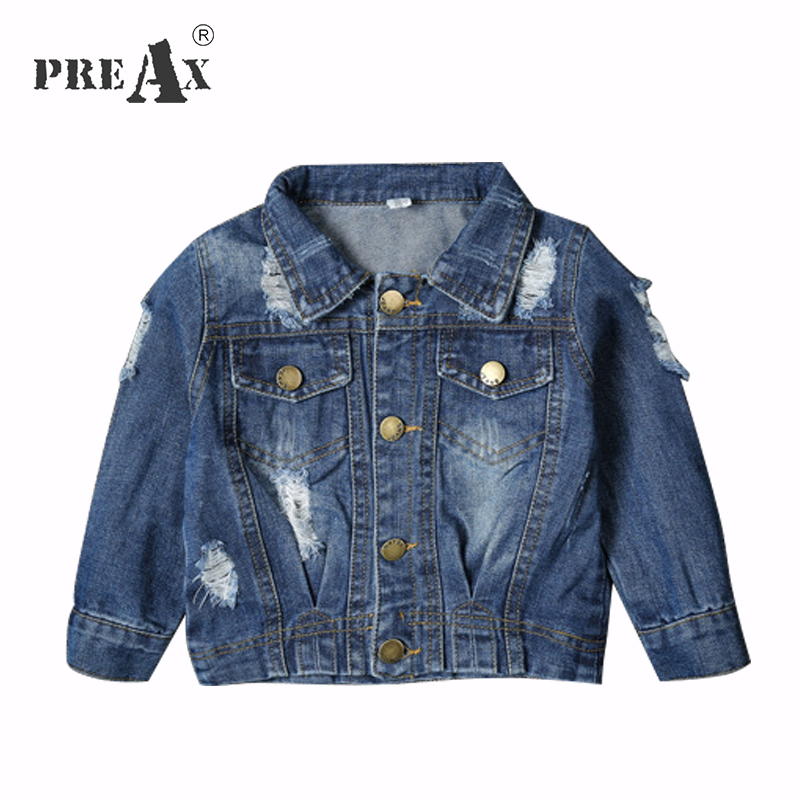 variety of designs and colors bright in luster genuine US $15.91 10% OFF|Baby Boys Denim Coats Fashion Ripped Jeans Jackets for  Girl Toddler Denim Jackets Infant Cowboy Hole Coat Free Drop Shipping-in ...