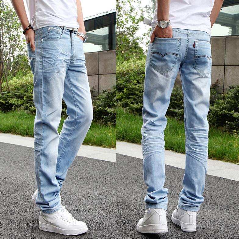 Young-men-wear-white-light-colored-jeans-Korean-Fashion-Slim-small-straight- light-blue-long-pants.jpg