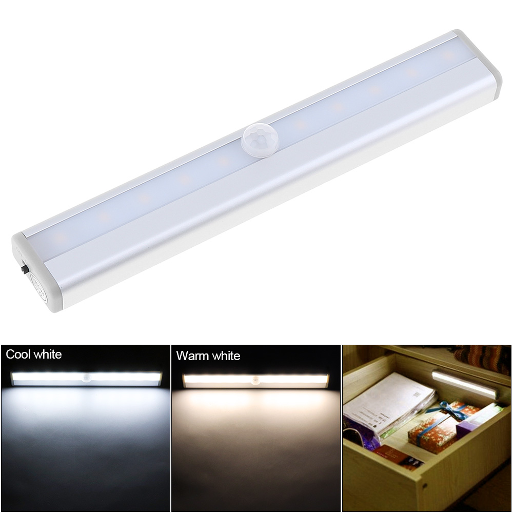 Lights & Lighting Knowledgeable Pir Motion Sensor Rechargeable Led Night Light Lamp For Hallway Pathway Staircase Magnetic Strip Wall Lighting