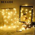 BEIAIDI гирлянда  шар  Рождественская светодиодная гирлянда  50 м  400  СВЕТОДИОДНАЯ Гирлянда для свадьбы  дня рождения  Рождества  праздника