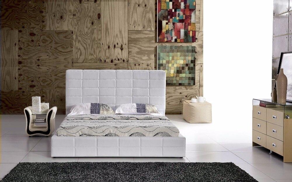 Yatak Bedroom Furniture 2018 Soft Bed Muebles Para Casa Modern Bedroom Furniture Promotion No King Cabecero Cama Hot Sale