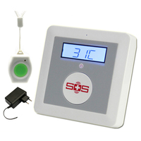 K3 Package D Set GSM Home Alarm System SOS Elderly Care Alarm And Home Safety Security