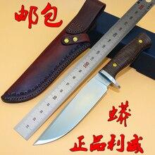 Новый LW боа 2 фикчированный прямой нож D2 блейд тактический отдых на природе охотничий нож выживания EDC инструменты с медным мозаика заклепки