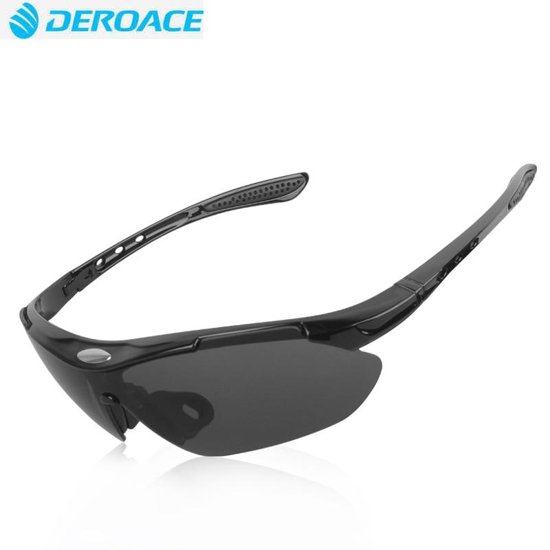 Prix pour DEROACE Sports Aucun Polarisées Lunettes Vélo Lunettes Verre De Vélos Vélo Vélo Équitation Finshing Sport Cyclisme lunettes de Soleil