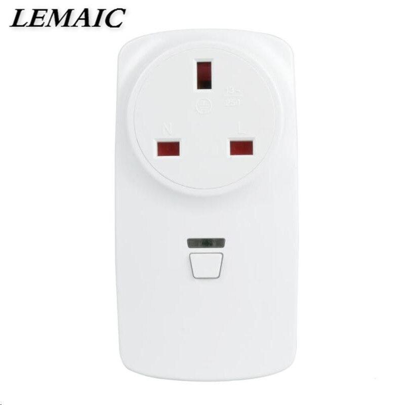 LEMAIC font b Smartphone b font Tablet WiFi Smart UK Plug Smart Home Socket Work with