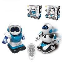 High Quality Children Intelligent Balance RC Robot Wheelbarrow Dancing Toy Remote Control Musical Toys Birthday Gift