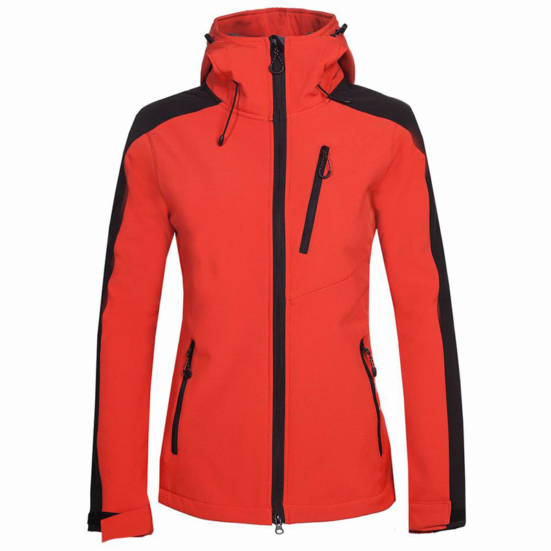 2019 Female Camping&Hiking Soft shell Waterproof Windproof Keep Warm Coats Winter Outdoor Fleece Skiing Climbing Fishing Jacket-in Hiking Jackets from Sports & Entertainment    3