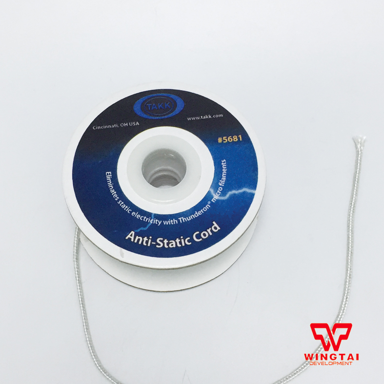 #5681 USA TAKK Anti-static Cord  original usa takk anti static tinsel