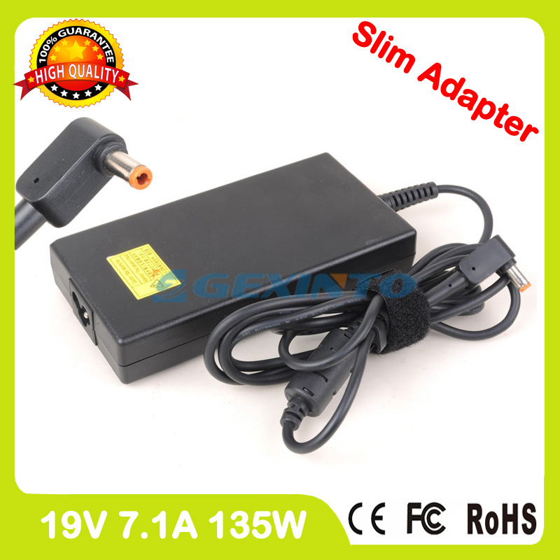 Slim 19V 7.1A 135W laptop ac power adapter charger for Acer Aspire Z3-710 U5-710 AIO PC PA-1131-05 PA-1131-08 SADP-135EB B цена