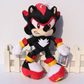 25~33cm Black Shadow the Hedgehog Plush Toys Sonic The Hedgehog Plush Doll Soft Stuffed Plush Toy Free Shipping