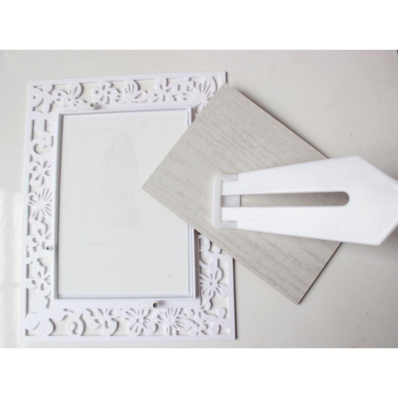 White False Nail Art Showing Shelf Tips Display Stand Rack Board Nail Polish UV Gel Display Showing Frame Manicure Tool