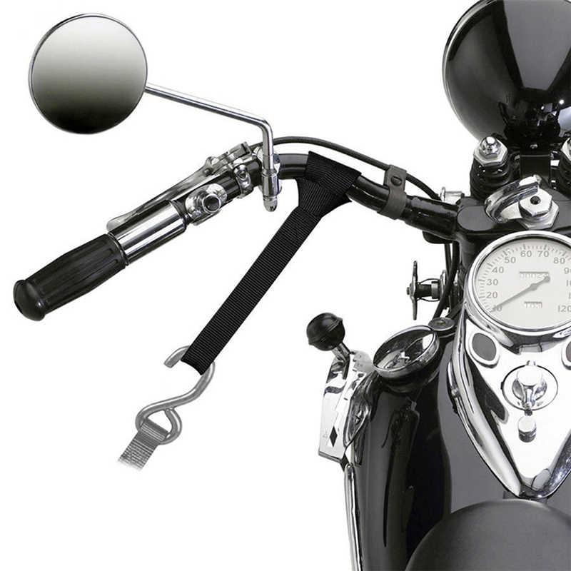 1 قطعة 30.5x2.5x0.1 سنتيمتر دراجة نارية التعادل داونز الأمتعة ضمادة لينة لسيارة دراجة نارية الحلقات الأشرطة