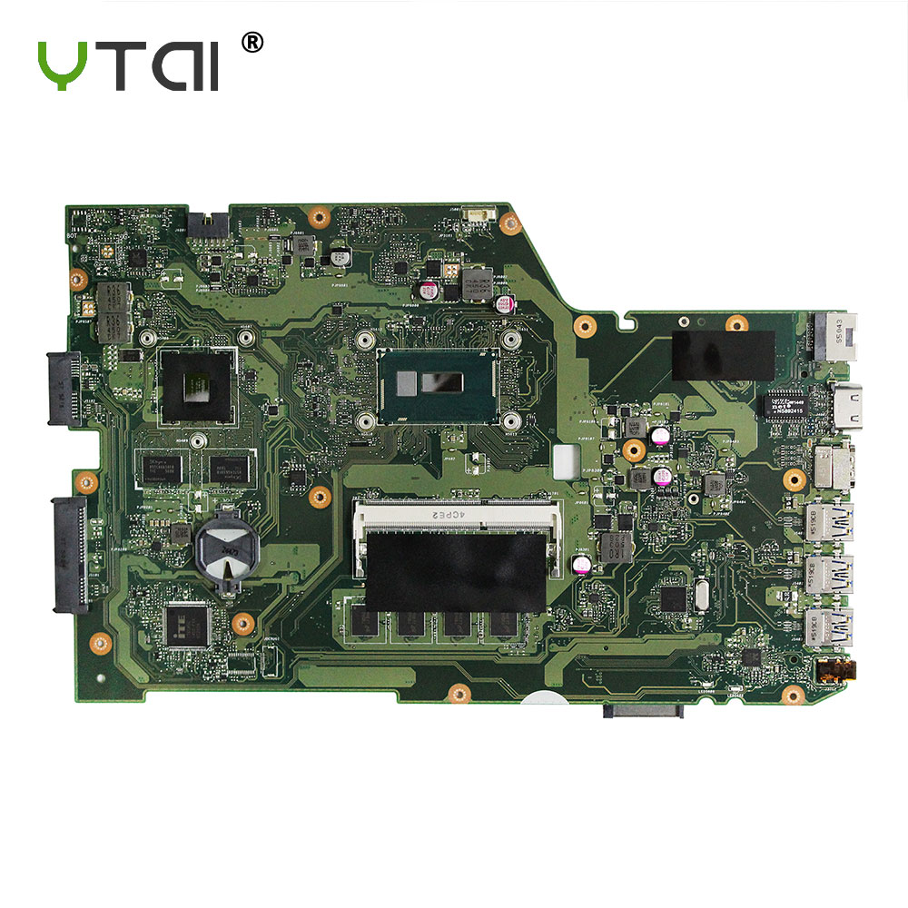 YTAI Original For ASUS X751L K751L K751LN X751LK X751LD F751LD REV 2.3 I7-5500U laptop notebook motherboard DDR3 HM86 x751ld motherboard rev 2 0 i7 4710 cpu 4gb ram for asus x751ln x751lj k751l x751ld laptop motherboard x751ld mainboard 100% ok
