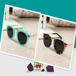 Beautyeye/детские солнцезащитные очки для маленьких мальчиков и девочек, винтажные круглые солнцезащитные очки, детские очки со стрелками, 100% У...