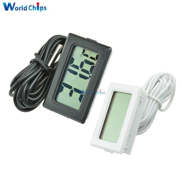 TPM-10 Digital LCD Thermometer Hygrometer Temperature Sensor Meter Weather Station Diagnostic-tool Thermal Regulator 2m