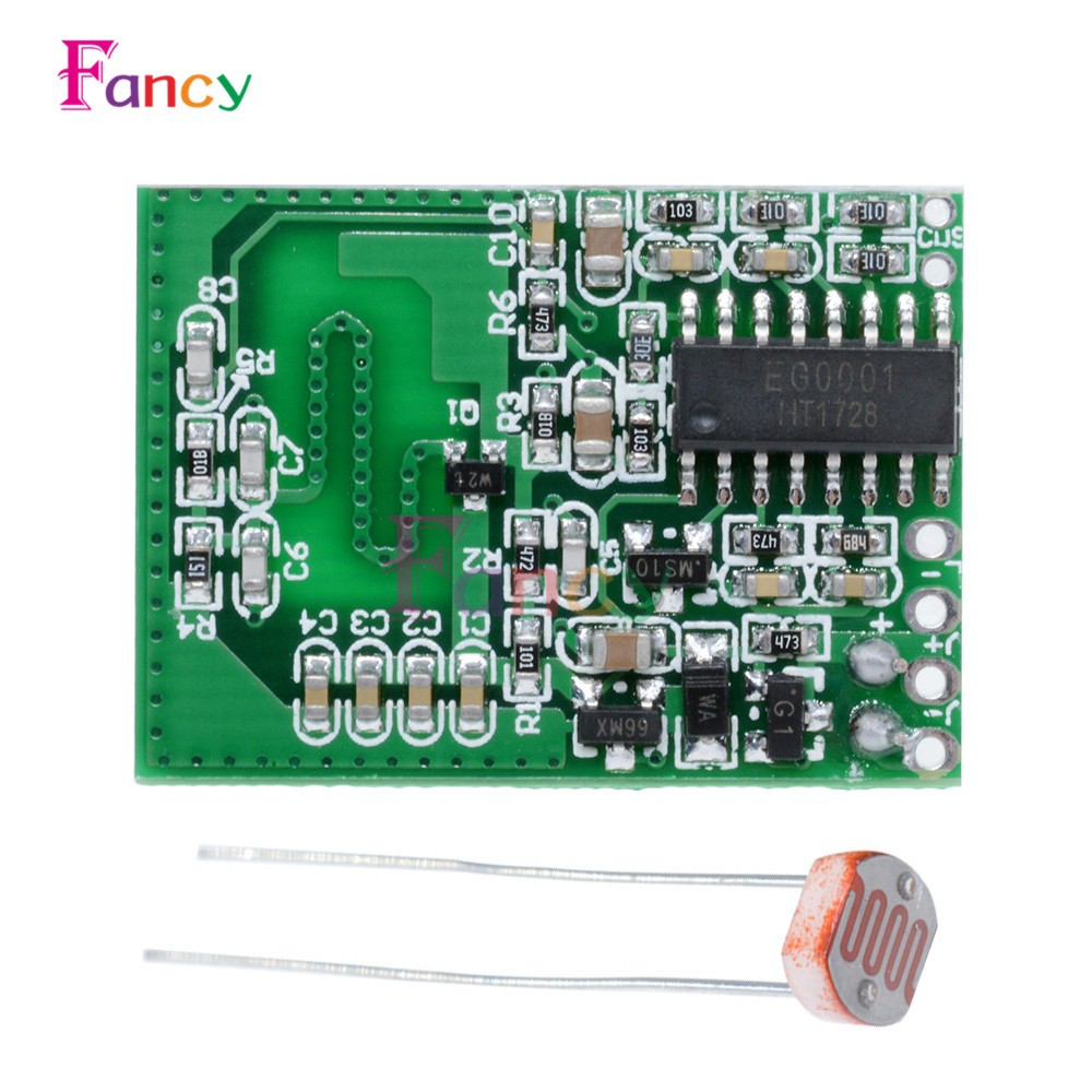 Radar Sensor Human Sensor Module Microwave Body Sensor Module Home Smart Light Control 3-7W LED Lamp Home Switch