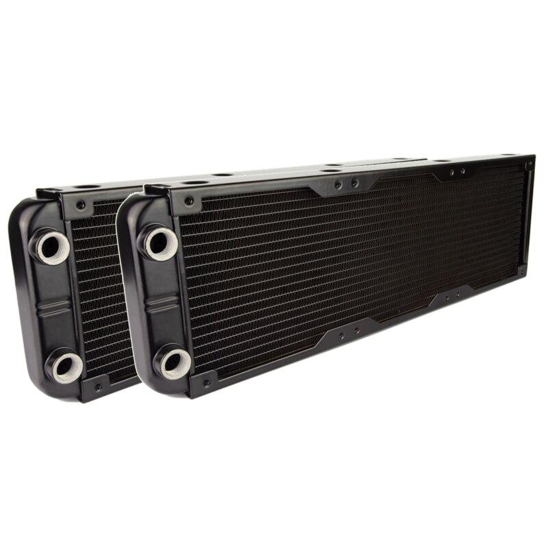 ALSEYE 2pieces 360mm water cooling radiator G1/4 Aluminum heatsink DIY water cooler for computer cpu cooler and vga cooler for asus u46e heatsink cooling fan cooler