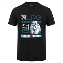 Lrg Raided T-shirt Black  O-Neck  Print  Short  t shirt men  Cotton  Casual  Broadcloth  t shirt lrg men s resolutionary camp tank