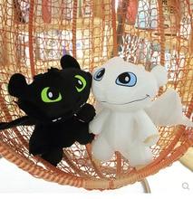 30/40/50cm How To Train Your Dragon Toys Night Fury plush Toothless Light Fury Anime Figure Dragon Plush Doll Toys for Children цена 2017