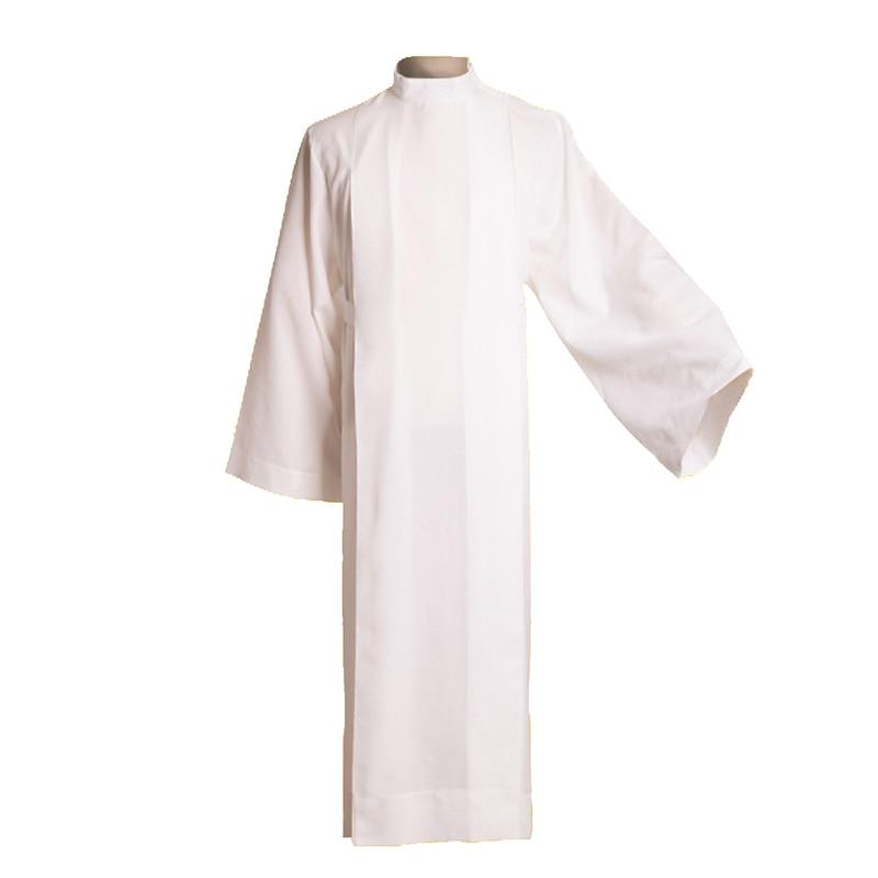 BLESSUME Clergy Alb Catholic Church Worship Vestments Baptismal Garment D003 clergy omnibus