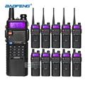 10pcs Baofeng UV-5R 3800mAh Battery Walkie Talkie Two Way Radio UV5R Baofeng VHF UHF 136-174mhz/400-520mhz FM Transceiver