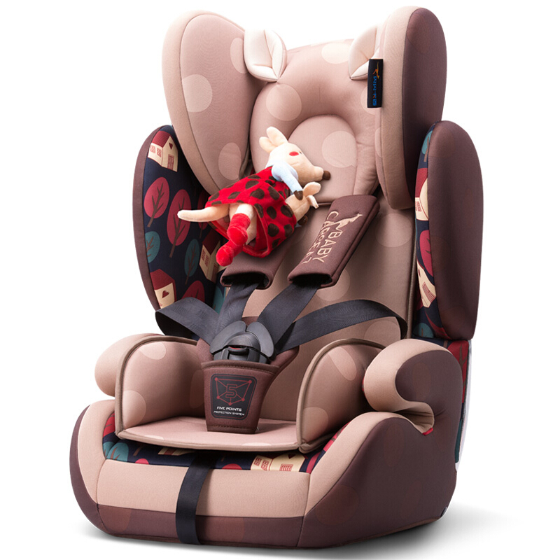 Enjoyable Safety Car Seat For Children 9 Moths 12 Years Baby Car Seat Booster Chair Adjustable Height Five Point Safety Harness Ece Ibusinesslaw Wood Chair Design Ideas Ibusinesslaworg