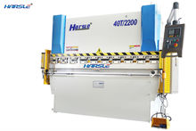 WE67K hydraulic cnc synchro press brake machine E21 control system, cnc sheet metal bending machine