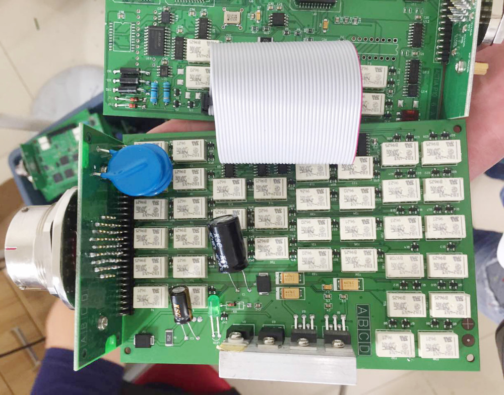 nec relay pcb for mb star c3