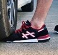 Modyf Мужские стальной носок защитной обуви дышащие уличной обуви безопасности мода свет анти-разбив обувь